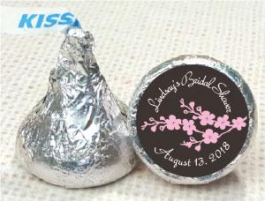 Custom Hershey's Kisses stickers