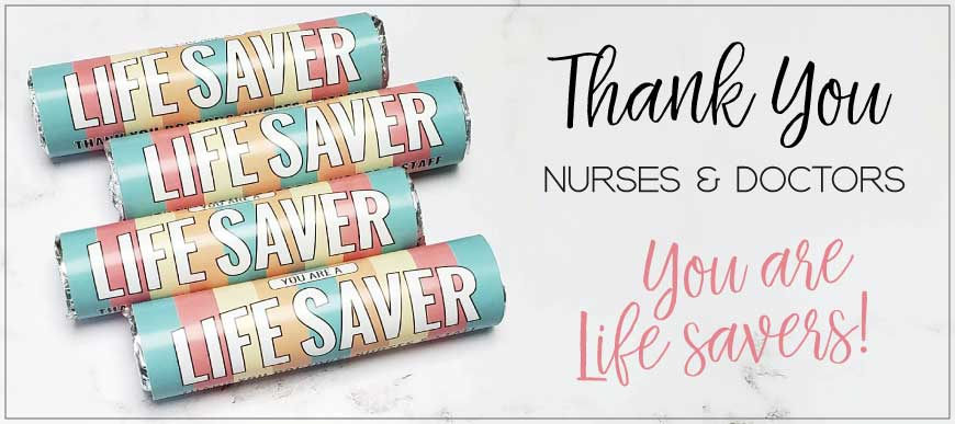 Nurse Appreciation Lifesavers Candy