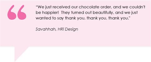 We just received our chocolate order, and we couldnt be happier