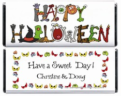 Happy Halloween Wrapper