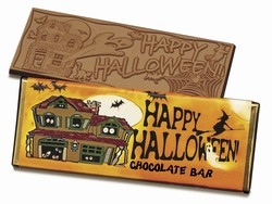 Happy Halloween Candy Bar