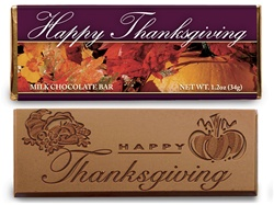 Happy Thanksgiving Candy Bar Non-Personalized Stock Design