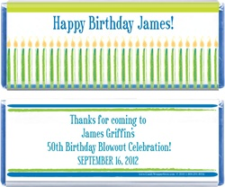Birthday Blowout Candy Bar Wrapper