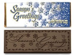 Seasons Greetings Candy Bar