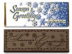 Seasons Greetings Candy Bar