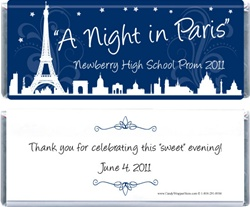 PromParis - A Night in Paris Prom Theme Wrapper