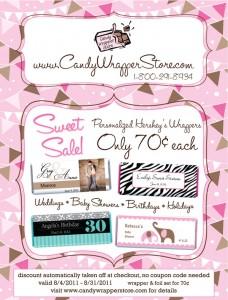 August 2011 Sweet Sale