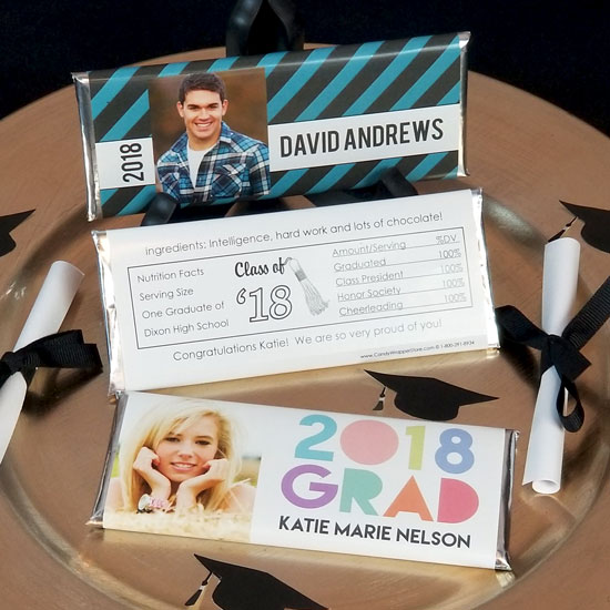 Graduation Personalized Candy Wrappers