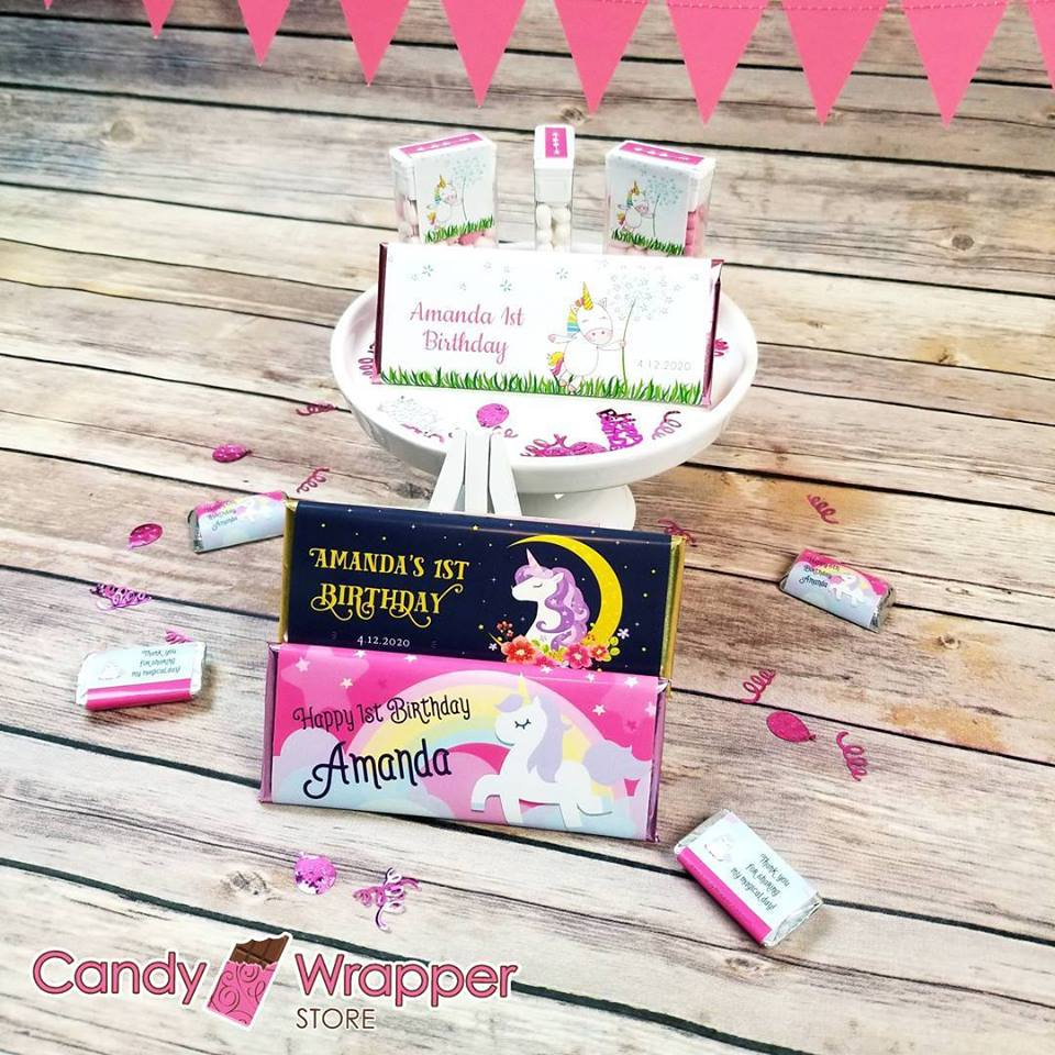 Personalized Candy Wrappers and Party Favors